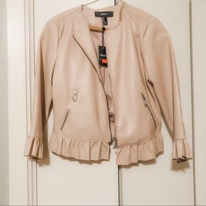 Forever 21 Feaux Leather Jacket